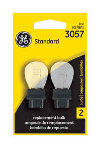 GE  12 volt S8  Automotive Bulb  2 pk 3057BP