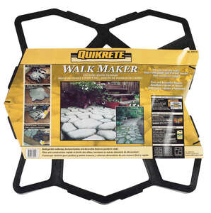 Quikrete  Walk Maker  Recycled Plastic  Concrete Stone Pattern Form  2 ft. W x 2 ft. L x 24 in. Dia.