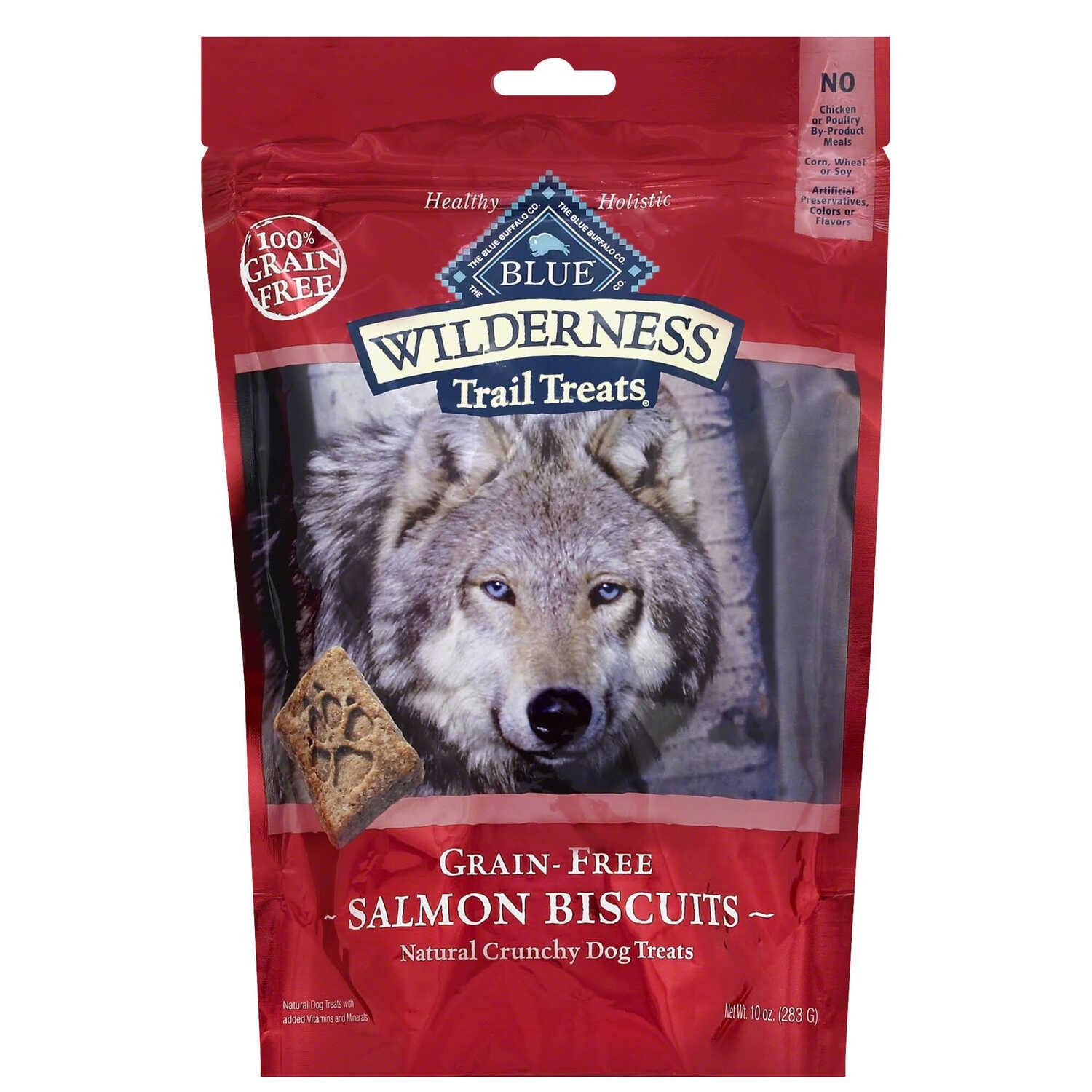 Blue Buffalo  Blue Wilderness  Salmon Biscuits  Dog  Treats  1 pk