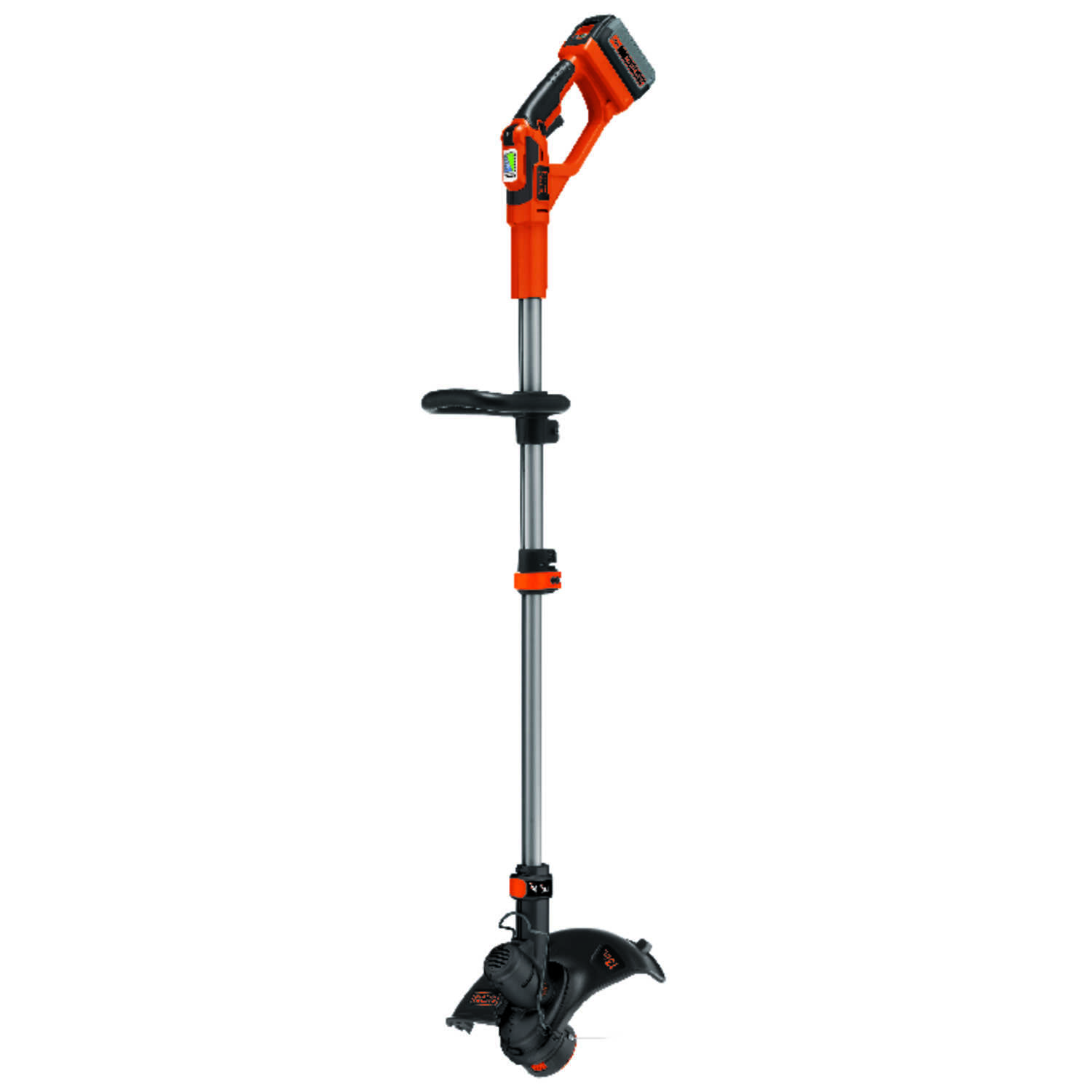 Black and Decker  Electric Powered  Straight Shaft  String Trimmer  Battery