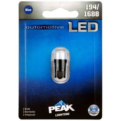 Peak LED Indicator Automotive Bulb 194/168B
