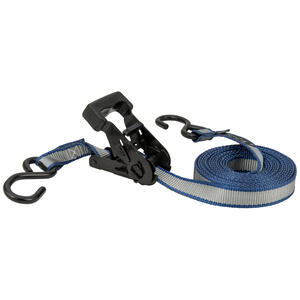 Keeper  1 in. W x 14 ft. L Gray  Tie Down Strap  500 lb. 1 pk