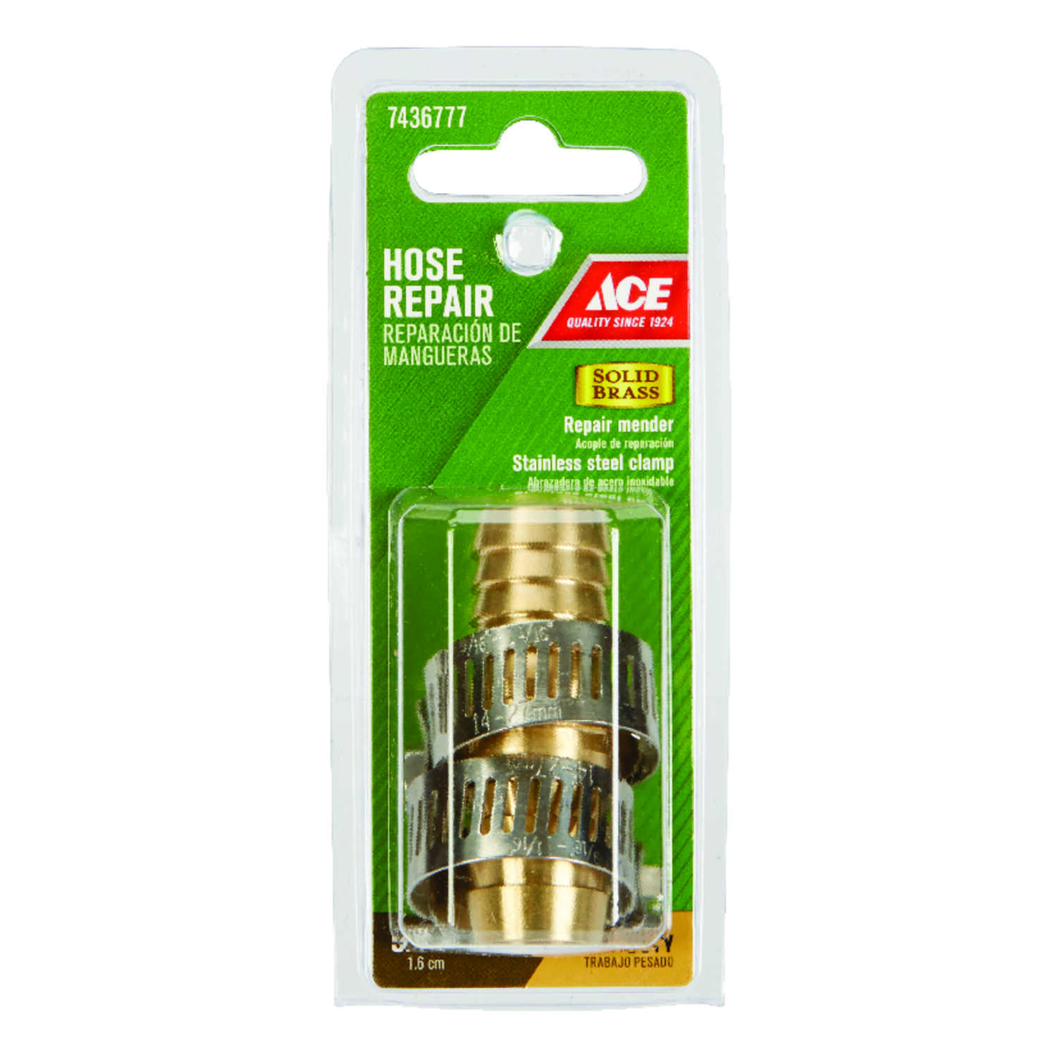 Ace  5/8 in. Brass  Male  Hose Repair