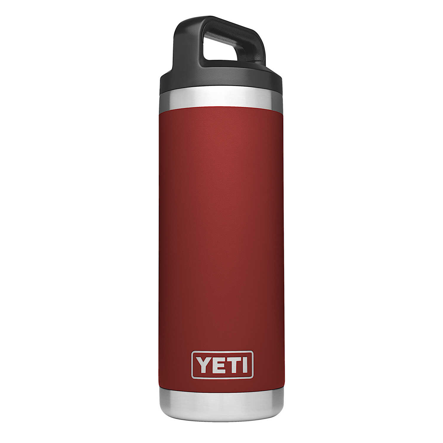YETI  Rambler  Brick Red  Stainless Steel  Insulated Bottle  BPA Free 18 oz.