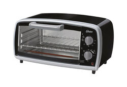 Oster  Stainless Steel  Black  Infrared Oven  7.87 in. H x 9.05 in. W x 8.8 in. D