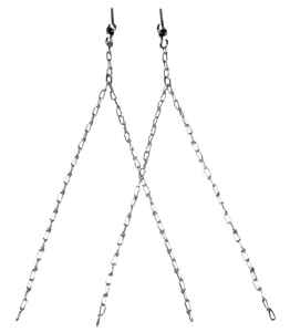 Campbell Chain  Steel  Porch Swing Chain Set  500 lb.