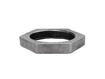Anvil  1 in. FPT   Galvanized  Malleable Iron  Lock Nut
