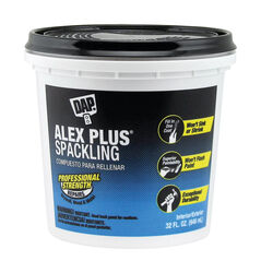 DAP  Alex Plus  Ready to Use White  Spackling Compound  1 qt.