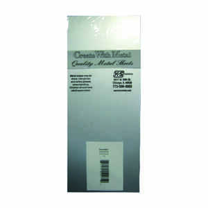 K&S  0.013 in.  x 4 in. W x 10 in. L Tin  Sheet Metal