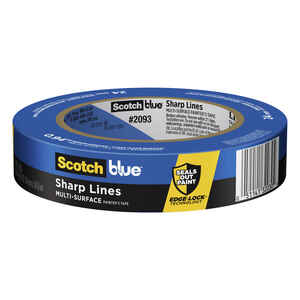 3M  Scotch Blue  0.94 in. W x 60 yd. L Blue  Medium Strength  Painter's Tape  1 pk