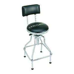 Craftsman  28-1/2 in. H x 10-1/2 in. W Swivel Stool