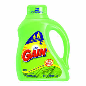 Gain  Fresh Scent Laundry Detergent  Liquid  50 oz.