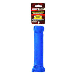 SecureLine 5/32 in. Dia. x 50 ft. L Blue Braided Nylon Paracord