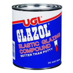 UGL  Glazol  White  Glazing Compound  1 qt.