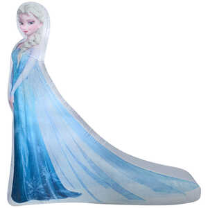 Gemmy  Elsa  Christmas Inflatable  Multicolored  Fabric
