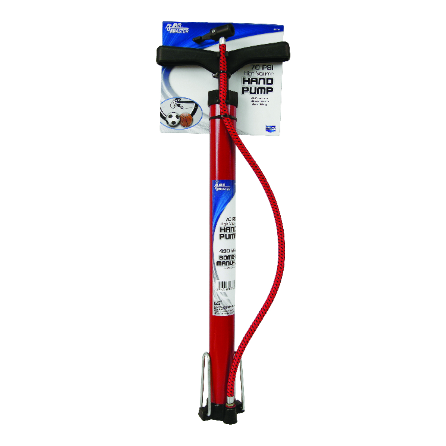 Custom Accessories  Air Master  70 psi Hand Pump