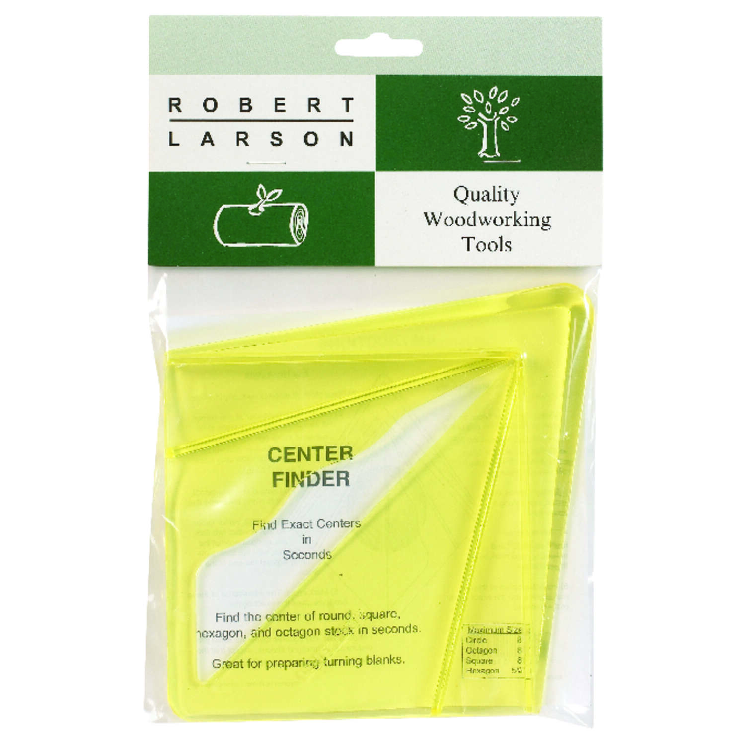 Robert Larson  9-1/2 in. L x 6 in. H Plastic  Center Finder