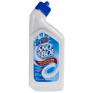 Brillo  Sno Bol  No Scent Toilet Bowl Cleaner  24 oz.