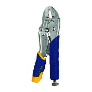Vise-Grip  7 in. Alloy Steel  Locking Pliers  1 pk Gray