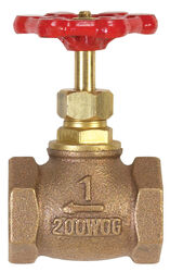 BK Products  ProLine  1 in.  x 1 in.  Brass  Globe Valve  Lead-Free FIP