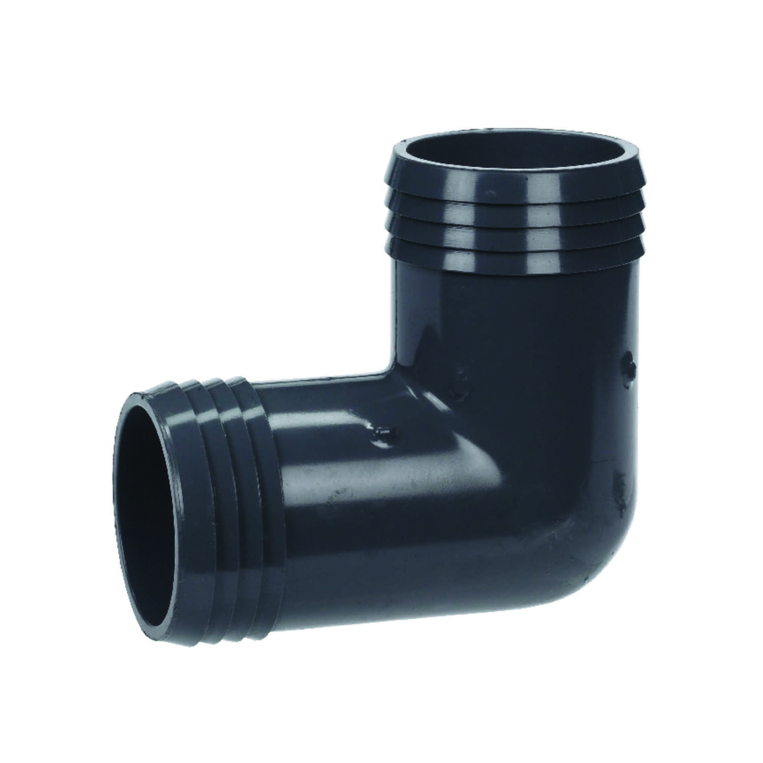 Lasco  2 in. Insert   x 2 in. Dia. Insert  PVC  Elbow