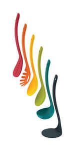 Joseph Joseph  13 in. L Multicolored  Utensil Set