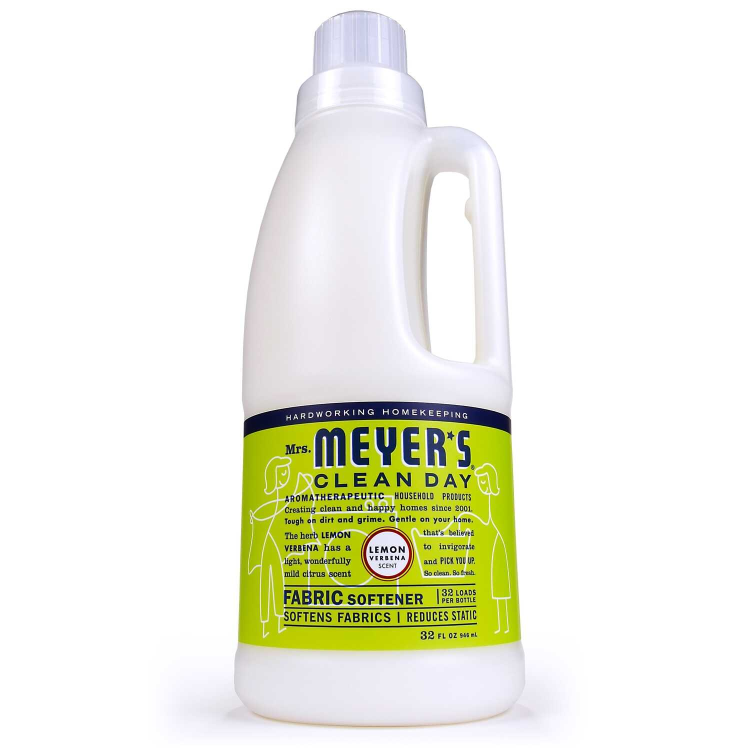 Mrs. Meyer's  Clean Day  Lemon Scent Fabric Softener  Liquid  32 oz.