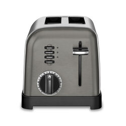 Cuisinart  Stainless Steel  Silver  2 slot Toaster  8.27 in. H x 8 in. W x 11.26 in. D