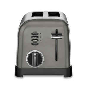 Cuisinart  Polished Chrome  Silver  Toaster  8.27 in. H x 8 in. W x 11.26 in. D
