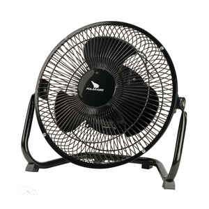 Polar Aire  8 in. H 3 speed Air Circulator Fan