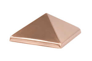 Waddell  4 in. L Prefinished  Brown  Copper  Exterior Post Top