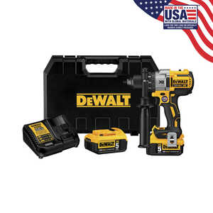 DeWalt  XR  20 max volts 1/2 in. Brushless Cordless Drill/Driver  Kit 2000 rpm 3