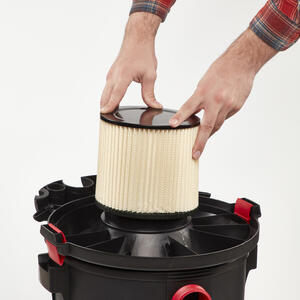 Craftsman  8 in. L x 7 in. W Wet/Dry Vac Cartridge Filter  5 gal. 1 pc.