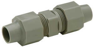 Zurn  3/8 in. CTS   x 1/2 in. Dia. CTS  Coupling  Polybutylene
