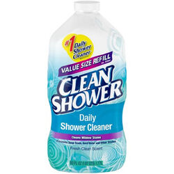 Clean Shower Fresh Clean Scent Daily Shower Cleaner 60 oz. Liquid