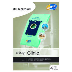 Electrolux  S-Bag Clinic Synthetic Anti-Allergy  Fits Electrolux Bagged 4 / Pack Canister