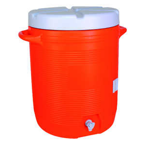 Rubbermaid  Water Cooler  10 gal. Orange