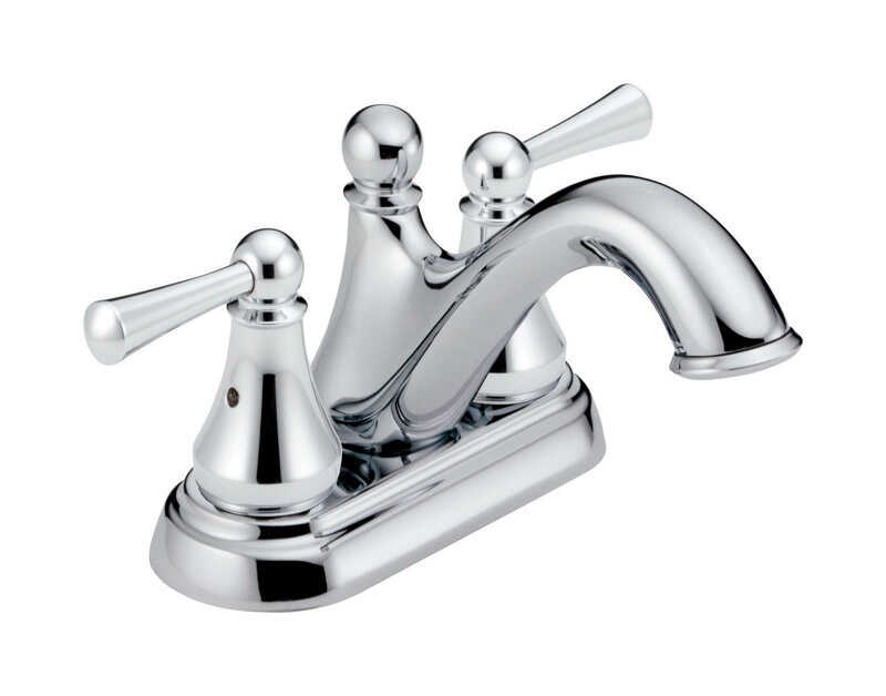 Delta  Haywood  Two Handle  Lavatory Faucet  4 in. Chrome