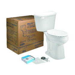 Mansfield  Alto Pro-Fit 3  ADA Compliant 1.28 gal. White  Elongated  Complete Toilet