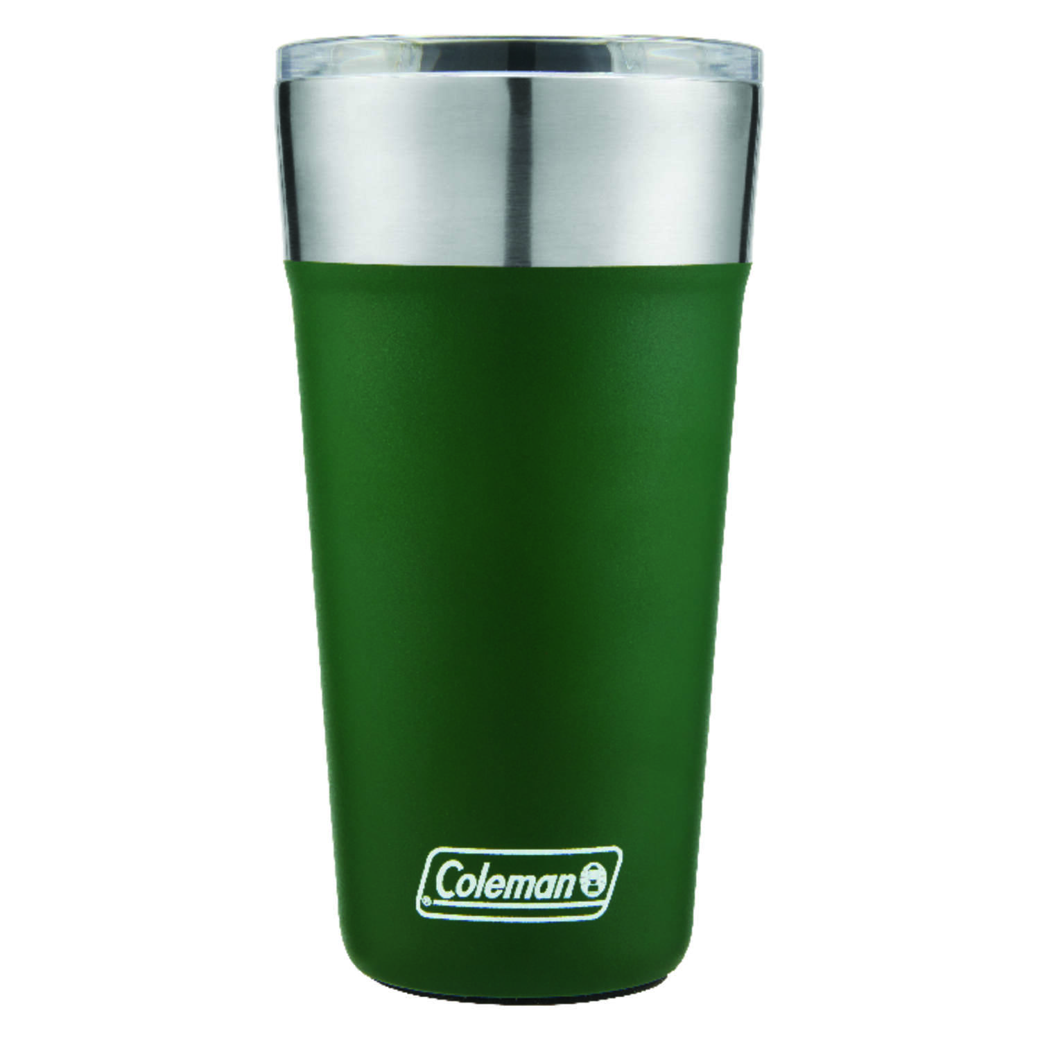 Coleman  20 oz. Brew  Insulated Tumbler/Glass  Heritage Green