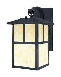 Westinghouse  Textured  Black  1  Wall Sconce