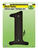 Hy-Ko  6 in. Black  Plastic  Screw-On  Number  1  1 pc.