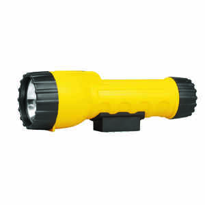 Rayovac  Industrial  17 lumens Yellow  Krypton  Flashlight  D