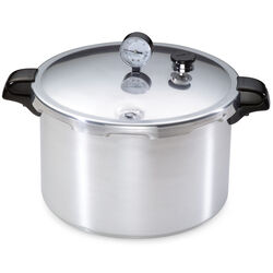 Presto Brushed Aluminum Pressure Cooker and Canner 16 qt.