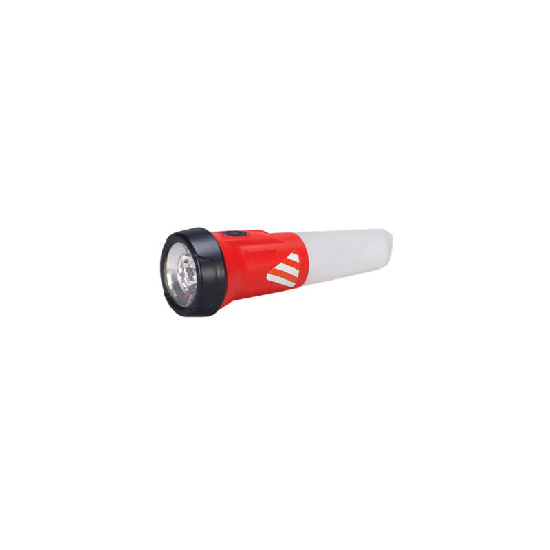 Energizer  Weatheready  55 lumens Black & Red  LED  Flashlight  AA