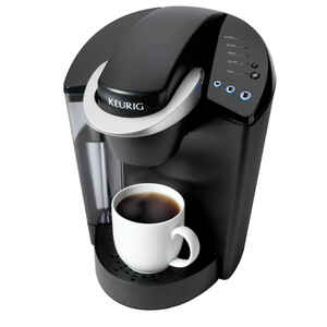 Keurig  48 oz. Black  Single Serve Coffee Maker