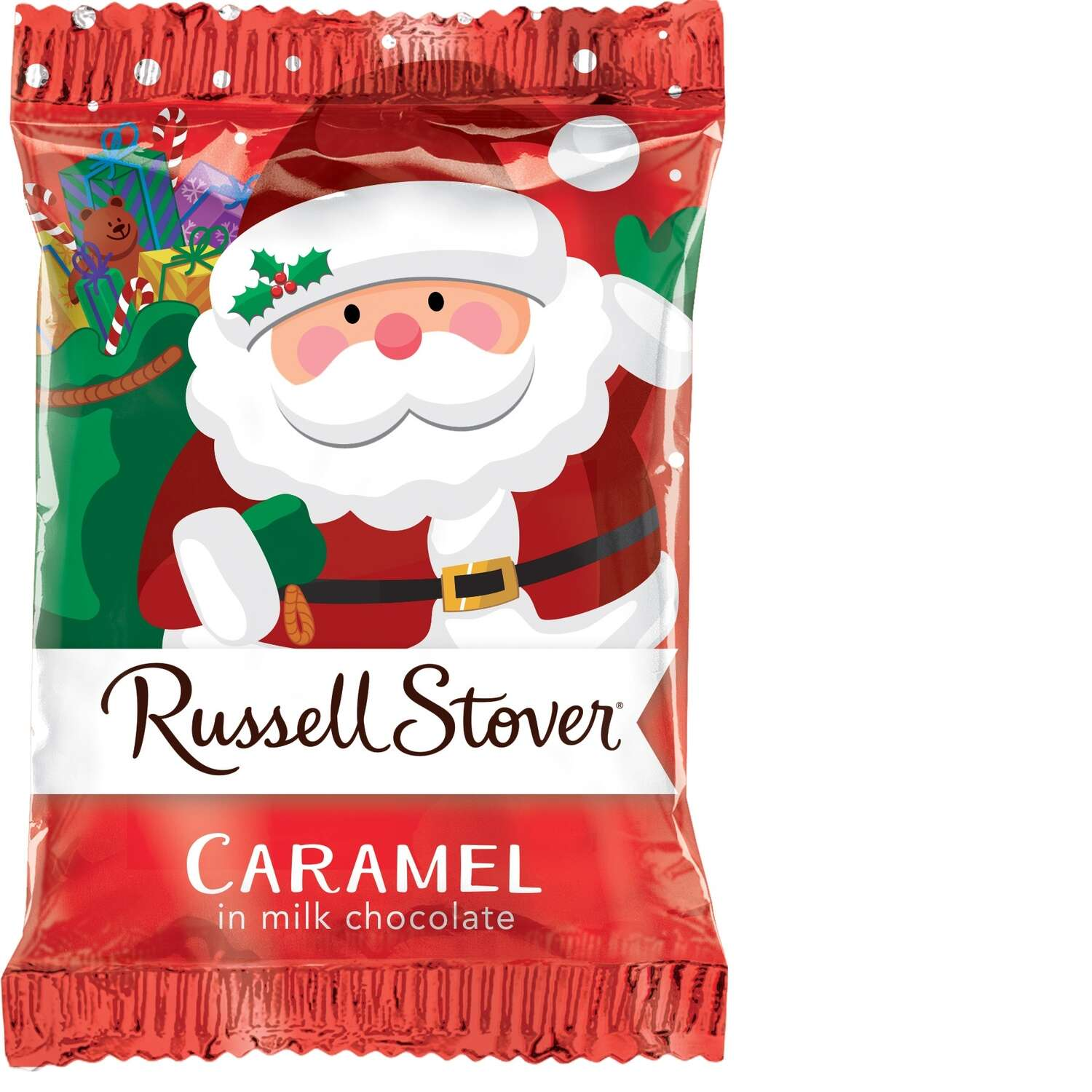 Russell Stover  Milk Chocolate Covered Caramel  Candy  1 oz.