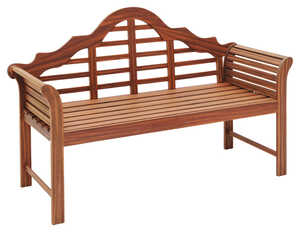 Jack Post  Lutyens  Bench  Wood  37.25 in. H x 23 in. L x 60 in. D