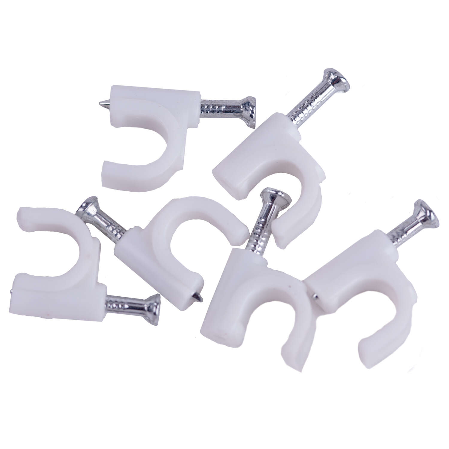 Monster Cable  Cable  RG6  Coaxial Cable Clips  6 pk