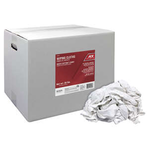 Ace  Cotton  Cleaning Cloth  25 pk